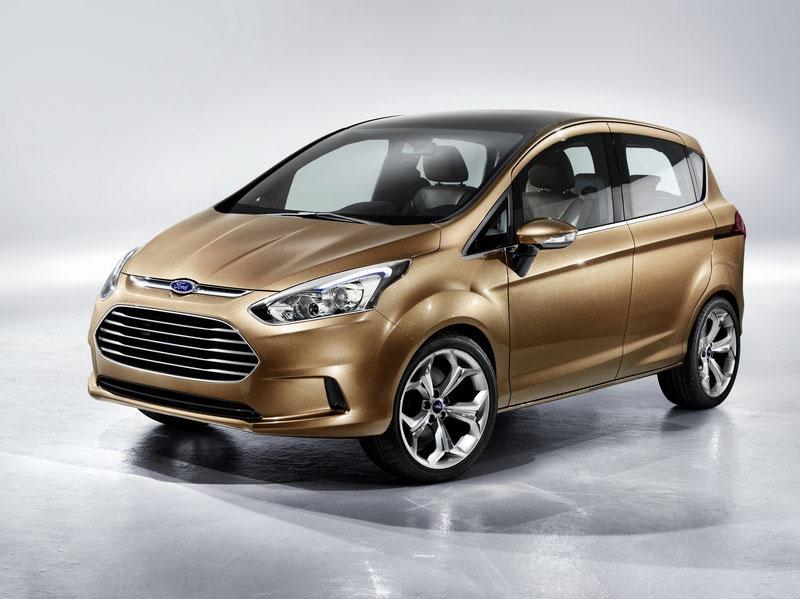 Ford B-MAX Concept, viitorul MPV mic ce ar putea fi construit in Romania
