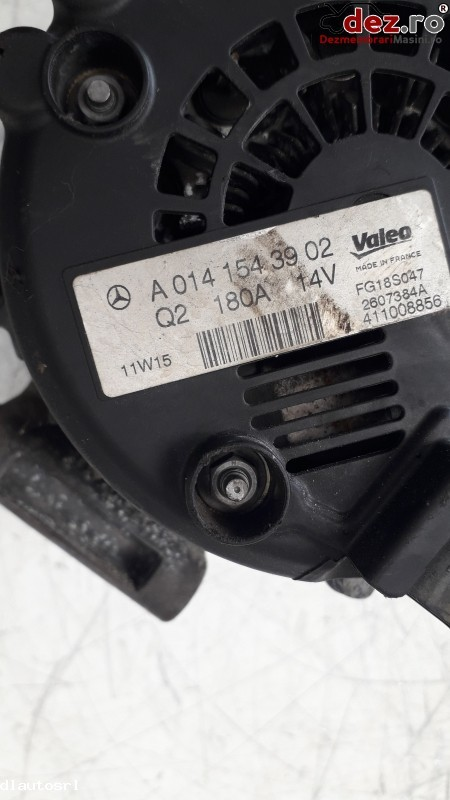Imagine A0141543902 Alternator Mercedes Vito 2008 in Cosereni