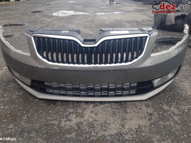 Imagine Bara protectie fata Skoda Octavia 2014 Piese Auto