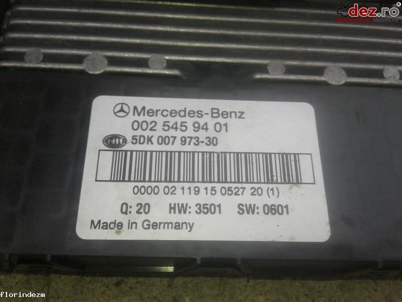 Imagine 0025459401 Bloc sigurante / relee Mercedes C-Class W203 2004 cod 002 545 94 01 in Craiova