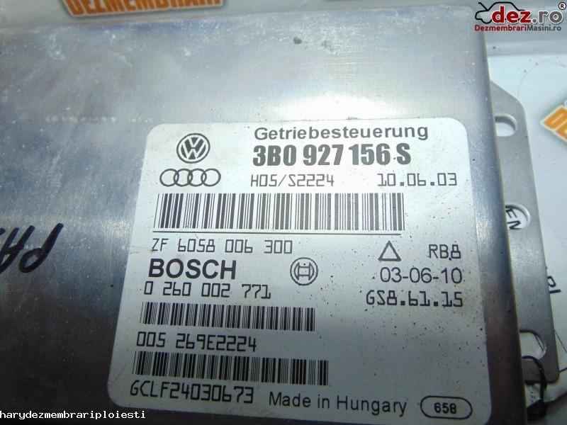 Imagine 3B0927156S Calculator cutie de viteza Volkswagen Passat B5 2003 in Ploiesti
