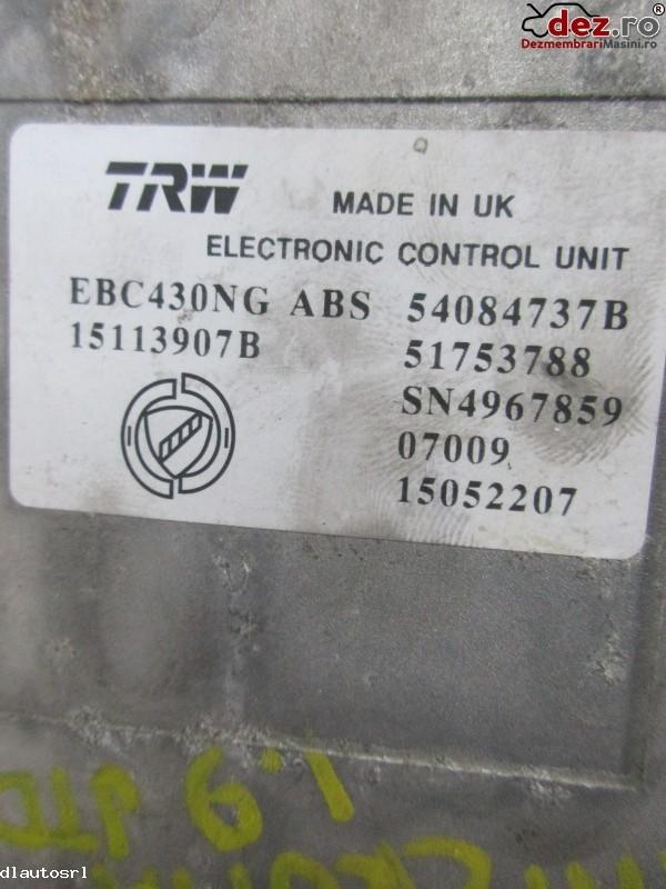 Imagine 54084737B Calculator unitate abs Fiat Croma 2005 in Cosereni