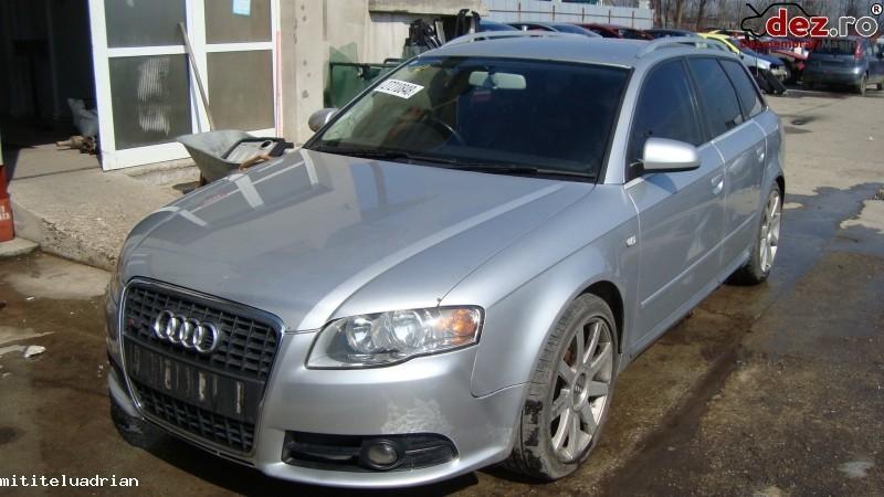 Imagine Dezmembrez Audi A4 B7 Avant Model S Line Motor 2 0 140cp Cod Blb in Garoafa