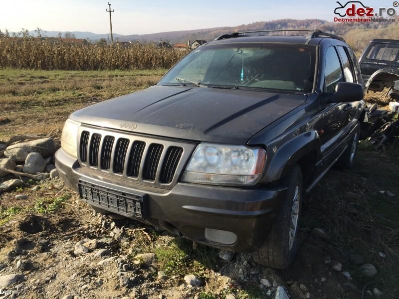 Imagine Dezmembrez Jeep Grand Cherokee 4 7 Benzina in Curtea de Arges