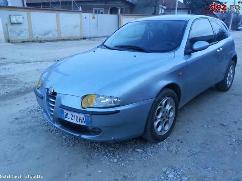 Imagine Dezmembrez alfa 147 motor 1 6 benzina toba sport masina este completa si este... in Craiova