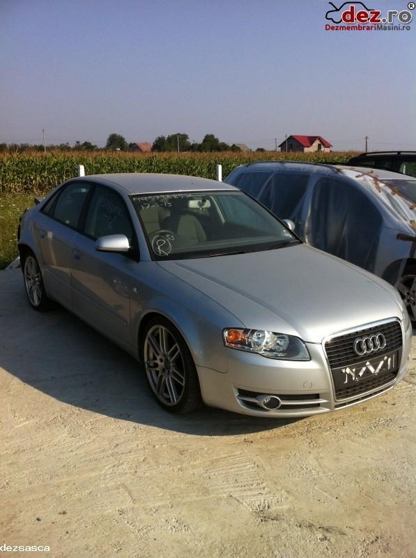 Imagine Dezmembrez Audi A4 1 9 2 0 Diesel 2006 in Falticeni