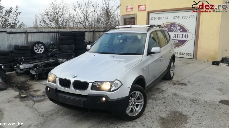 Imagine Dezmembrez Bmw X3 2005 2 0d in Cornu Luncii