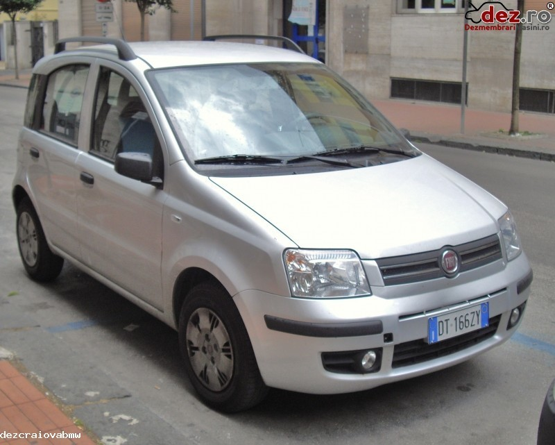 Imagine Dezmembrez Fiat Panda 1 2b An 2008 in Craiova