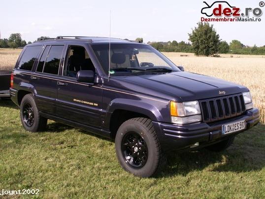 Dezmembrez Jeep Grand Cherokee Zj Motor 5 2 V8 Dezro ® Id