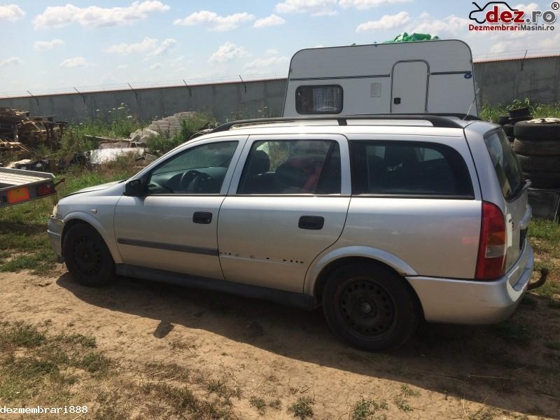 Imagine Dezmembrez Opel Astra 2 0 Dti An 2001 Gri Argintiu Break Piese Auto