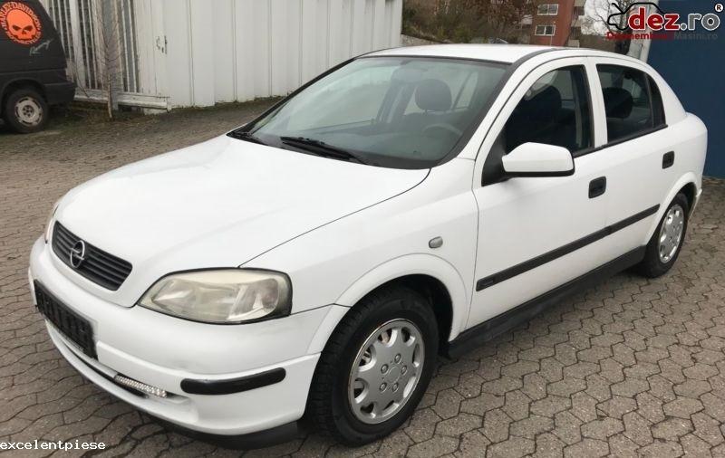 Imagine Dezmembrez Opel Astra G 1 7 Cdti 80cp Alb in Bacau