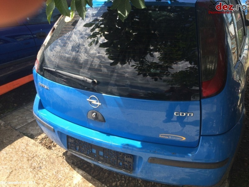 Imagine Dezmembrez Opel Corsa C 1 3 Cdti Z13dt in Vladeni