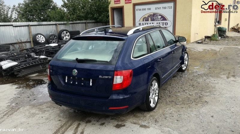 Imagine Dezmembrez Skoda Superb 2012 Break in Cornu Luncii