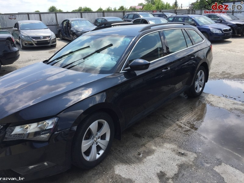 Imagine Dezmembrez Skoda Superb 2017 Break in Cornu Luncii