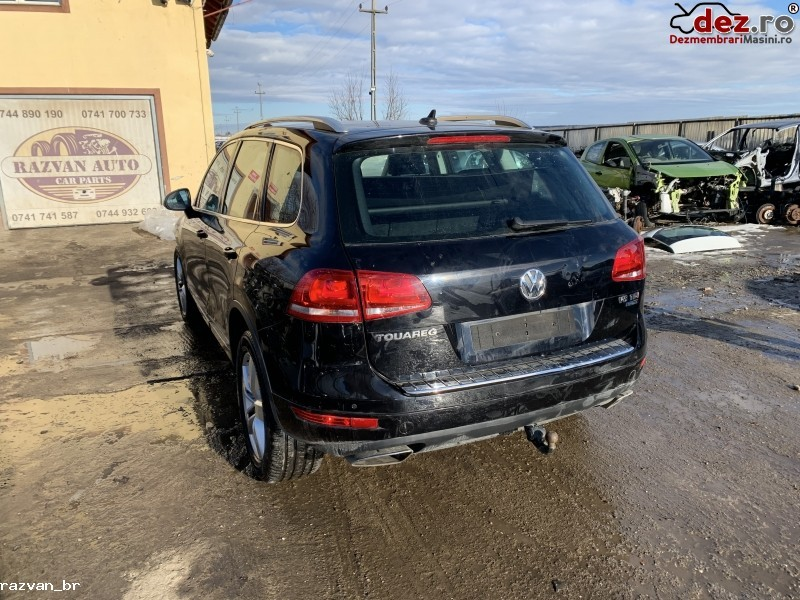 Imagine Dezmembrez Volkswagen Touareg 2012 7p 3 0tdi in Cornu Luncii