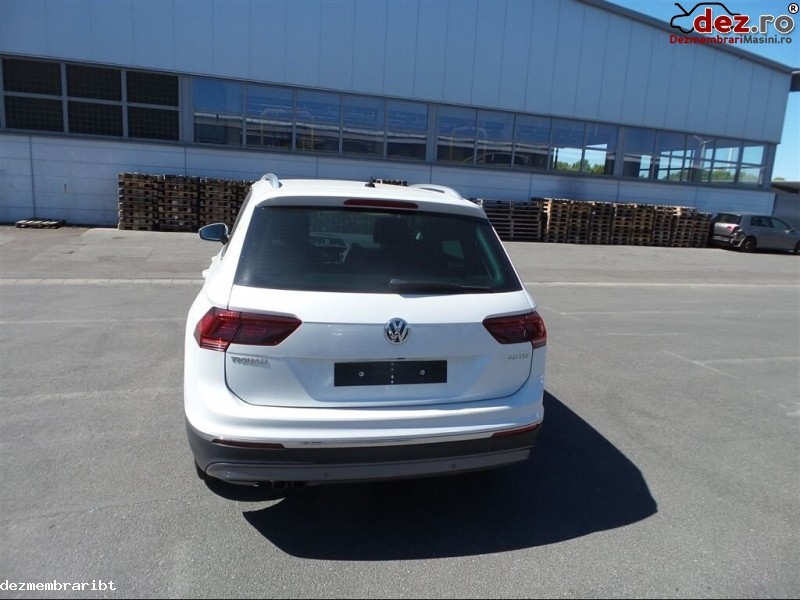 Imagine Dezmembrez Vw Tiguan Ii Din 2017 2 0 Tdi Dfc in Vladeni
