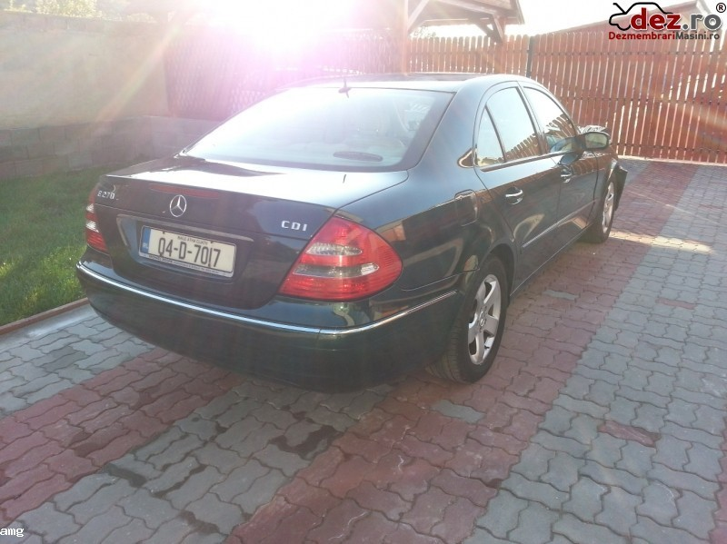 Imagine Dezmenbrez Mercedes Benz E 270 Cdi W 211 An 2004 in Timisoara