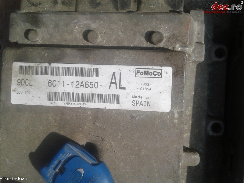 Imagine 6C1112A650AL Kit pornire motor Ford Transit EURO 4 2009 cod 6C11-12A650-AL in Craiova