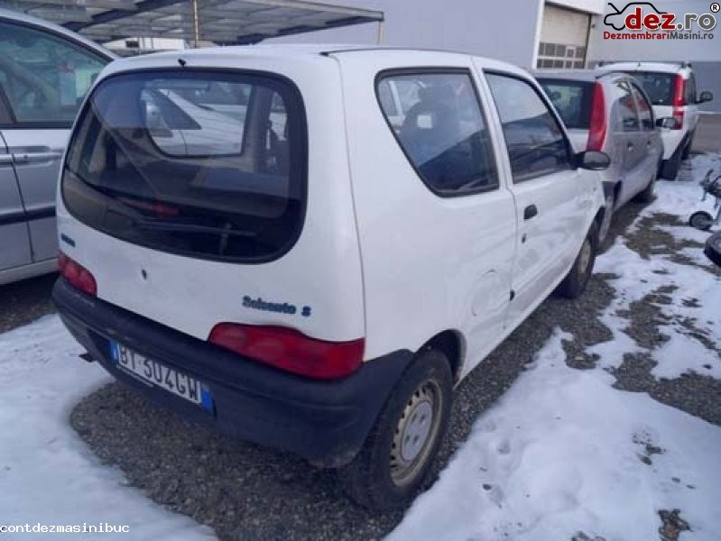Imagine Vindem carlig tractare fiat seicento an fabricatie 2001 Piese Auto