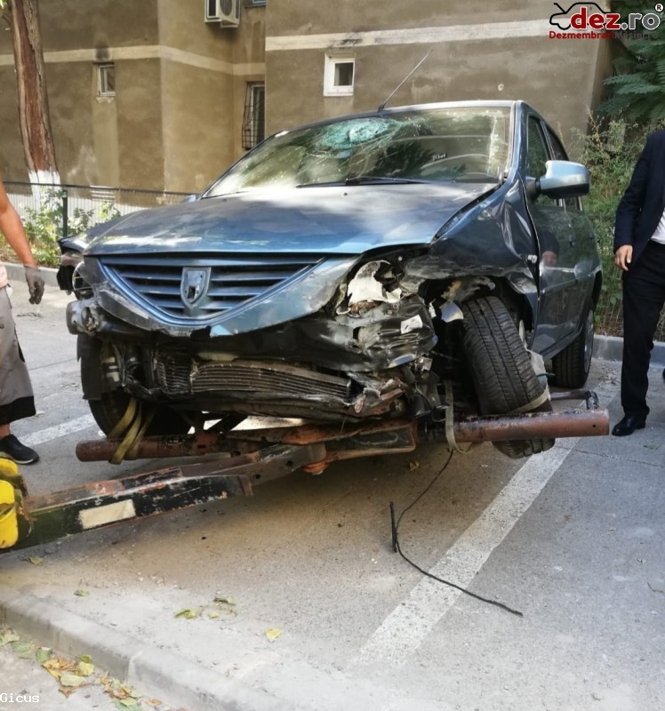 Vând Dacia Logan Diesel Recent Avariat in Bucuresti