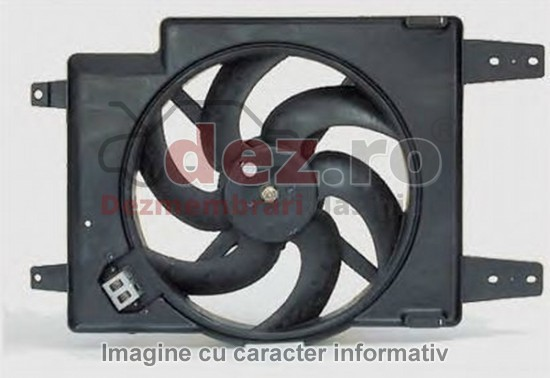Imagine Ventilator radiator Volkswagen Golf 2003 in Baia Mare