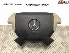 Imagine Airbag mercedes sl r129 negru+crem 1996 1998 r170 w208 w202 amg pret Piese Auto
