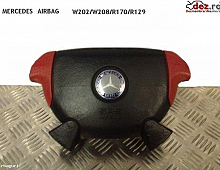 Imagine Airbag Mercedes Sl 280 R129 Negru+rosu Ani Fabricatie 1996 Piese Auto