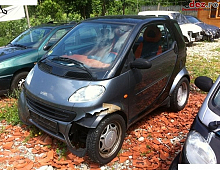 Imagine Vand Smart ForTwo lovita in fata Masini avariate