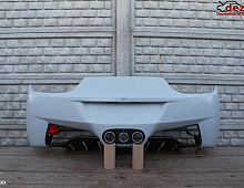 Imagine Bara spate Ferrari 458 2012 Piese Auto