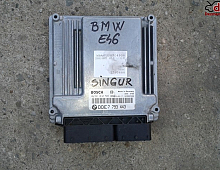 Imagine Calculator motor BMW Seria 3 E46 2.0d 2004 cod 7 793 443 Piese Auto