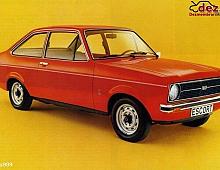 Imagine Cumpar Ford Escort Fabricat Intre 1970 Masini avariate