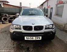 Imagine Dezmembrez Bmw X3 E83 2 0 Diesel Argintiu 2006 Piese Auto