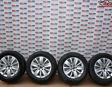 Imagine Jante aliaj Volkswagen Sharan 2014 cod 7N0601025K Piese Auto