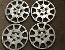 """Imagine Capac Capace Janta Tabla Pe 15"""" Hyundai R15 Piese Auto"""