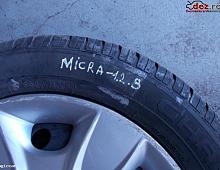 Imagine Jante tabla Nissan Micra 2009 Piese Auto