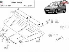 Imagine Scut motor Citroen Berlingo 2002 Piese Auto
