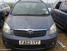 Imagine Dezmembrez Toyota Corolla Verso Din 2003 1 8 Benzina Piese Auto