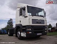 Imagine Dezmembrez MAN TGA 410 2003 cutie viteze Piese Camioane