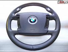 Imagine Bmw seria 7 e65 66 airbag si volan gri piele comenzi 2001 Piese Auto