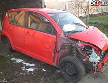 Imagine Dezmembrez sirion 2008 avariat stanga fata 24800 km orice Piese Auto