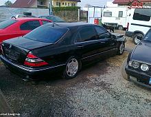 Imagine Dezmemebrez mercedes s 600 w 12 an 2001 full cu navi gatie Piese Auto