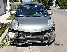 Imagine Vand Nissan Micra Avariat In Fata Motor Masini avariate