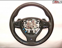 Imagine Bmw f10 volan m piele si comenzi cu dsg model 2010 2013 pret Piese Auto