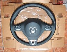 Imagine Volan piele si comenzi cu airbag passat 3c golf 6 tiguan Piese Auto