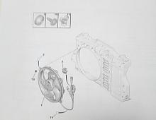 Imagine Electroventilator cu cablaj cu modul ,Releu
